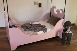 Mie Trampoline - lit arlequin - Kinderbett