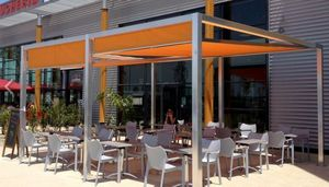 IDEEA TERRASSE - id2 design - Terrassenüberdachung