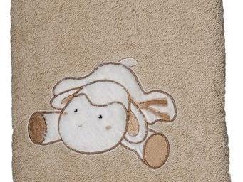 SIRETEX - SENSEI - drap douche 70x140cm doudou mouton - Kinder Badetuch