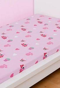 LPS - drap housse lps cuty friends 90 x 190cm - Spannbettlaken Für Kinder