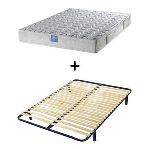 BELLE LITERIE - ensemble matelas espiral belle literie visco + cad - Bettwäsche