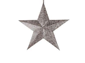BLANC D'IVOIRE - etoile mm - Dekorativer Stern