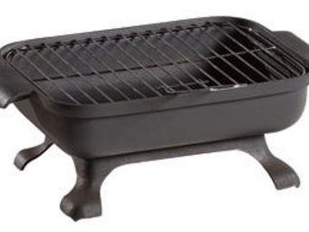 INVICTA - barbecue de table malawi en fonte 33x24.5x14.5cm - Holzkohlegrill