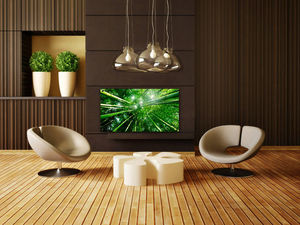 CHEMIN'ARTE - radiateur électrique design bambou forest 86x9x47c - Elektro Radiator