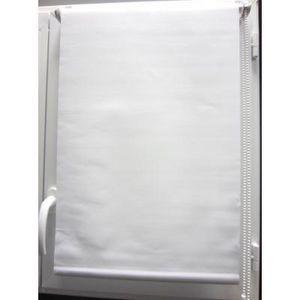Luance - store enrouleur occultant blanc 60x180 cm - Rollo