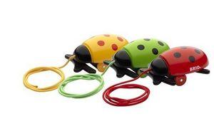 BRIO - coccinelle - Nachziehspielzeug