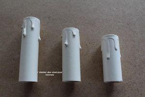 L'ATELIER DES ABAT-JOUR -  - Gefälschter Kerzenmantel