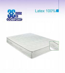 ECO CONFORT - matelas eco-confort 100% latex 7 zones 120 * 200 - Latexmatratze