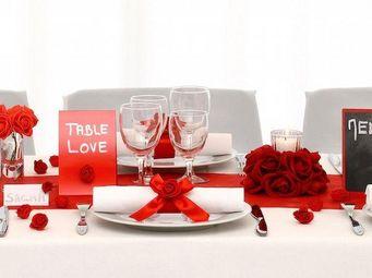 TABLE DE REVE -  - Tischdekoration