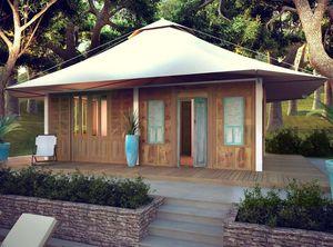 TECK TIME - 28 m² tente - Einfamilienhaus