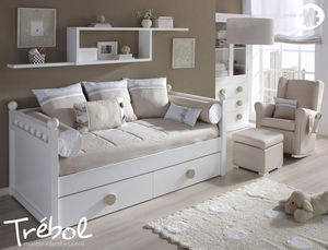 TREBOL -  - Kinder Schubladen Bett