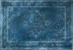 WHITE LABEL - tapis style persan rugged bleu de zuiver 200 x 300 - Berberisch Teppich