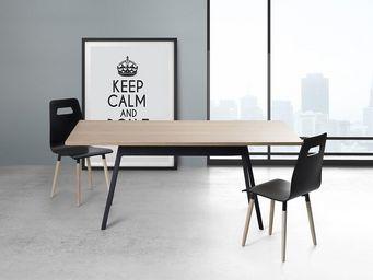 BELIANI - tables - Rechteckiger Esstisch