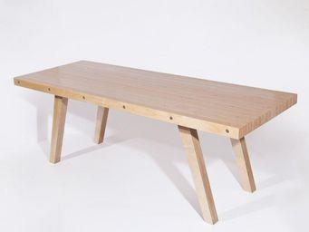MALHERBE EDITION - table l63 - Rechteckiger Esstisch