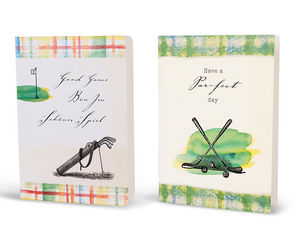 SUSI WINTER CARDS - vintage golf - Geburtstagskarte