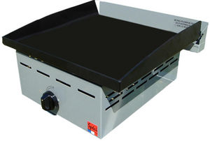 SPECI - plancha gaz inox plaque acier fabrication français - Grill Plate