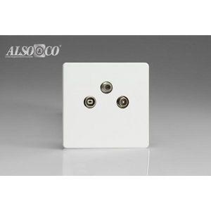 ALSO & CO - tv/sat socket - Fernsehersteckdose