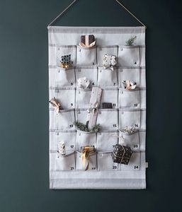 Ferm Living - grey christmas calendar-- - Adventskalender