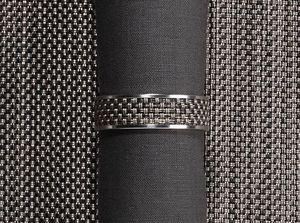 CHILEWICH - mini basketweave ring---- - Serviettenring