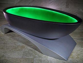 ALVARAE - carbone - Freistehende Badewanne