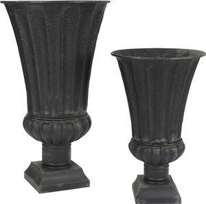 Amadeus - vases medicis noir (lot de 2) - Medicis Vase