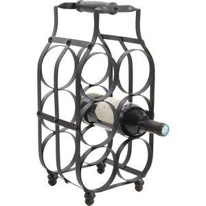 AUBRY GASPARD - porte bouteilles en metal - Flaschenträger