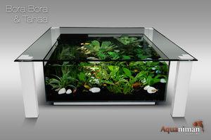 AQUANIMAN - bora bora & tahaa - Couchtisch Mit Aquarium