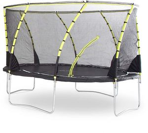 Plum - trampoline avec filet innovant 3g whirlwind 366 cm - Trampolin