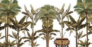 Ananbô - le jardin des plantes - Panoramatapete