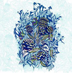 ANNA BOROWSKI -  - Bleistiftzeichnung
