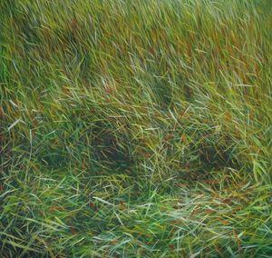MANUEL CANCEL - _grass - Zeitgenössische Gemälde