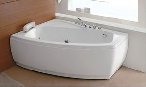 ITAL BAINS DESIGN - k1082 - Whirlpool Eckbadewanne