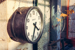 industrial for home -  - Wanduhr
