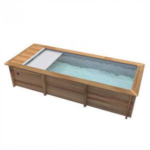 Procopi -  - Pool Mit Holzumrandung
