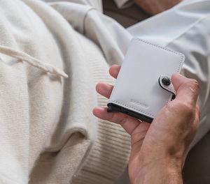 SECRID - miniwallet matte chalk - Kreditkartentasche