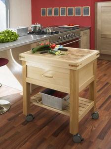 CHABRET - à roulettes - Küchenblock