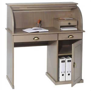 IDIMEX -  - Schreibtisch Mit Vorhang