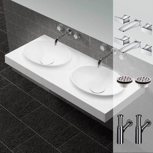 Rue du Bain - plan vasque 1433523 - Waschtischplatte
