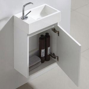 Thalassor - flyer 40 bianco - Handwaschbecken