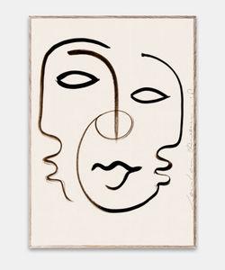 PAPER COLLECTIVE - we are one by loulou avenue - Zeitgenössische Gemälde