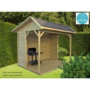 SOLID -  - Holz Gartenhaus