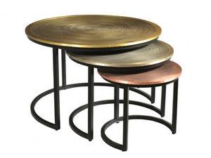 WHITE LABEL - table basse candeur - Tischsatz