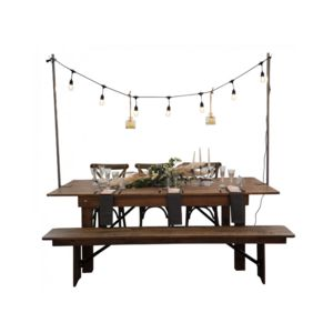 DECO PRIVE - support de table pour guirlande lumineuse - Lichterkette