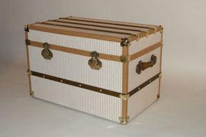 La malle en coin - malle courrier rayé - Kofferschrank