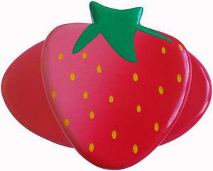 L'AGAPE - fraise - Kinder Kleiderhaken