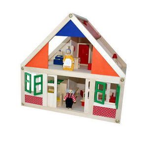 Andreu-Toys - casita de muñecas mediana - Puppenhaus