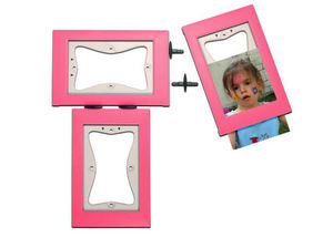 KERPIX - lot de 3 cadres rose - Kinder Fotorahmen