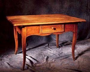 Bertrand Klein - table pieds biche alsace - Elsässischer Tisch