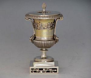 Dario Ghio Antiquites -  - Vase Mit Deckel