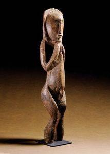 Lewis/Wara Gallery - figure, abelam - Kleine Statue